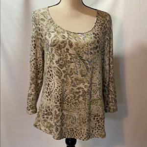 "Chico""s sz 1 Blouse"